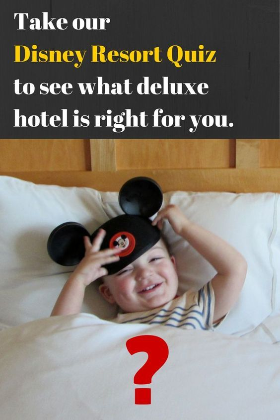 Take our quiz to see which luxury Disney World hotel is right for your next family vacation in Orlando.