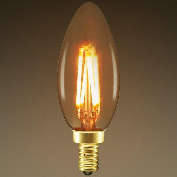 Led Chandelier Bulb Filament Type 3 Watt Image Led Chandelier Bulb Led Bulb