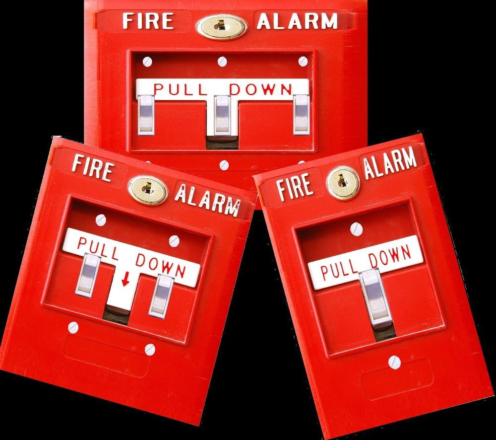 Fire Alarm Light Switch Cover Plate