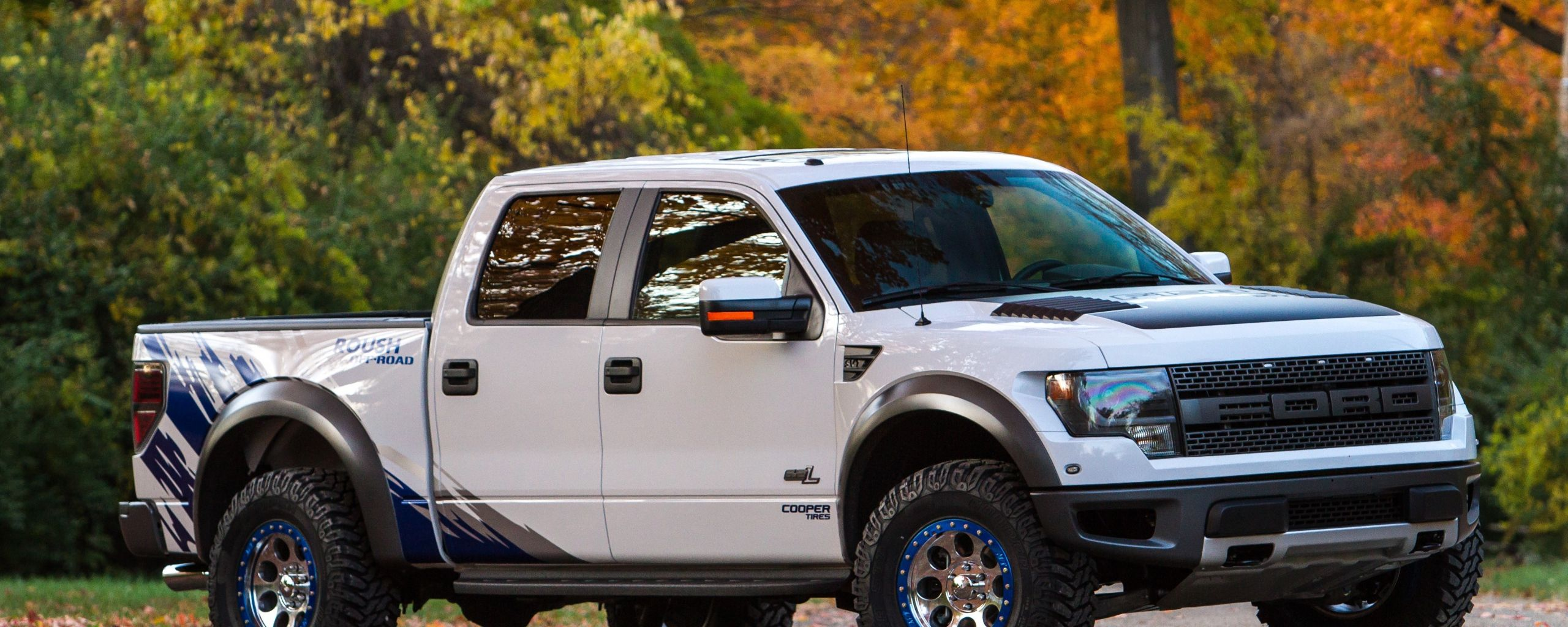 2560x1024 fond d cran ford f 150 rapace air performances roush