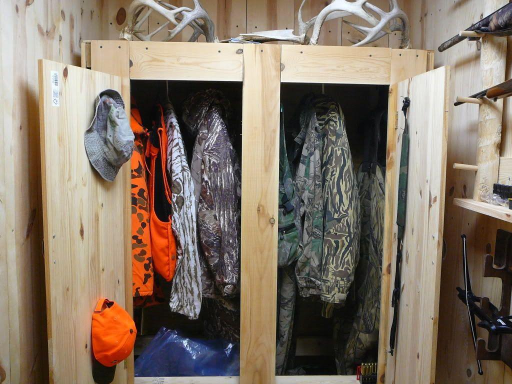 Hunting Gear Closet