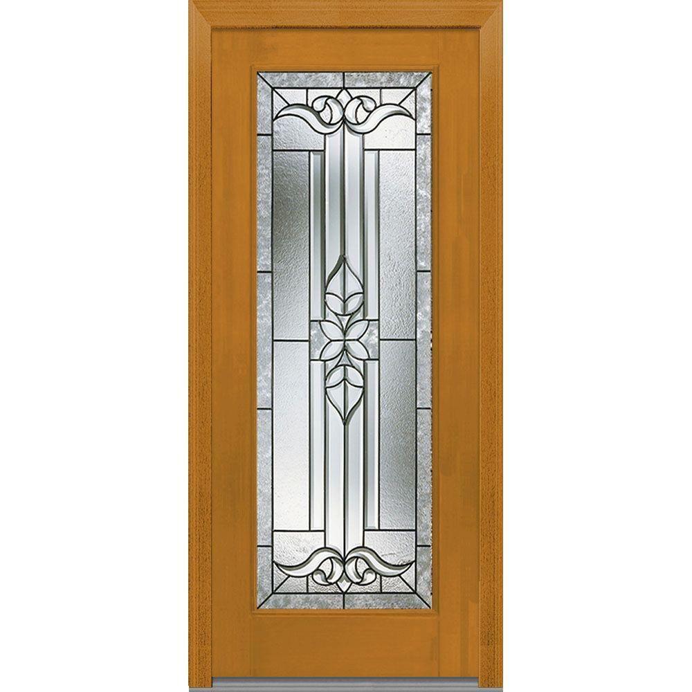 Mmi Door 375 In X 8175 In Cadence Decorative Glass Full Lite