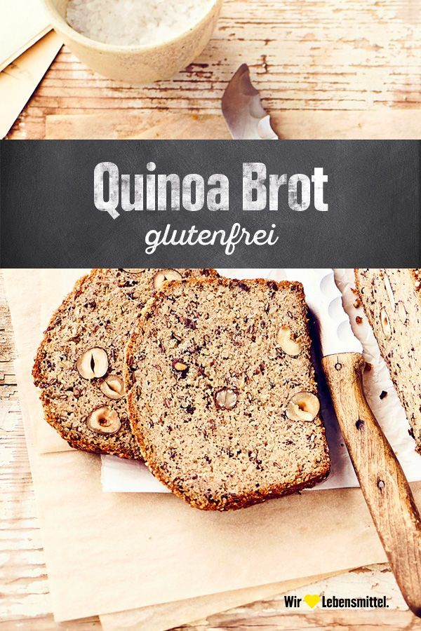 Quinoa Brot -  Mit unserem Rezept für Quinoa Brot backst du ein wahres Powerbrot: Ganz ohne Gluten