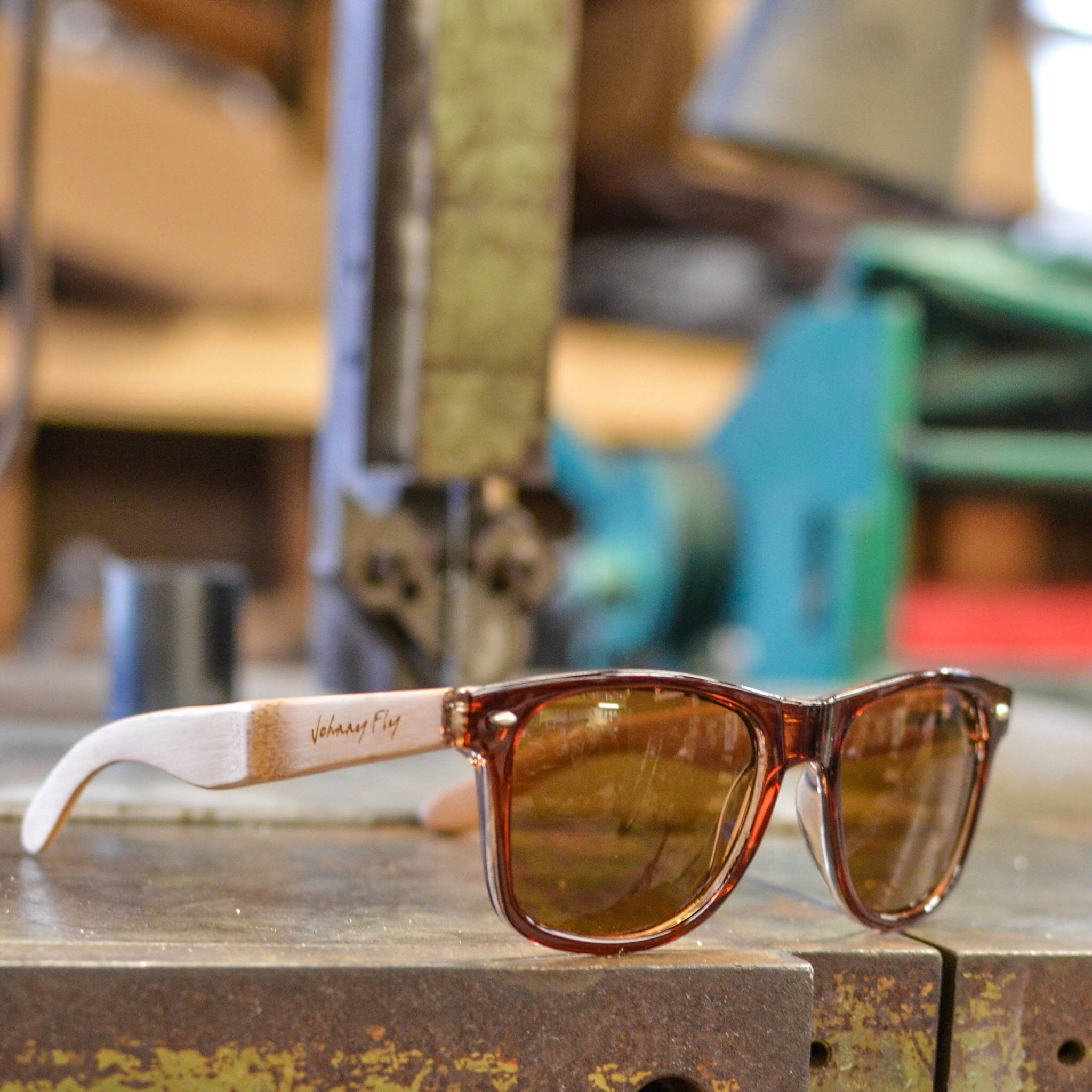 d11d6dbfe25d Fancy - RetroFLY Bamboo Sunglasses by Johnny Fly
