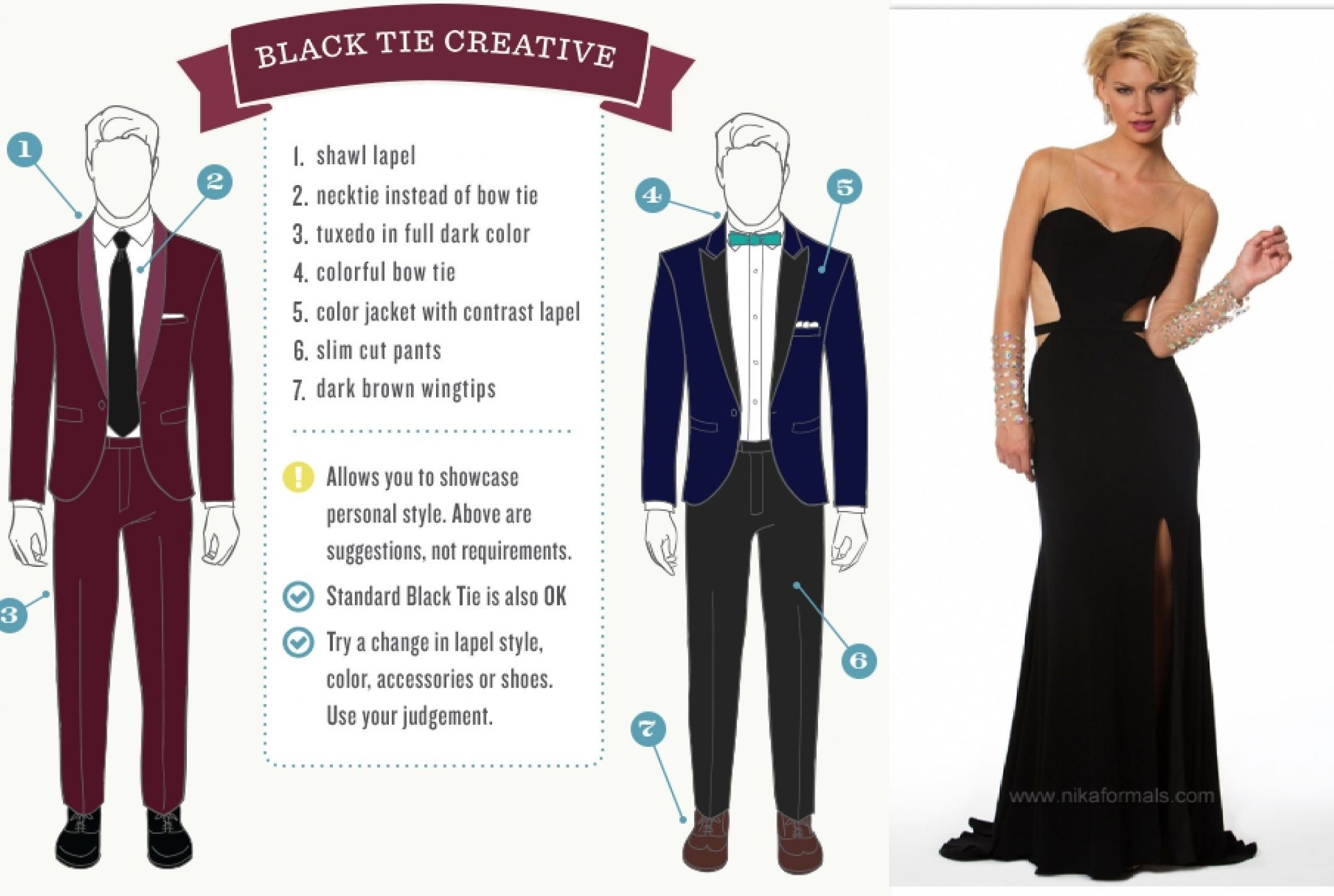 black tie dress code - Google Search | Men\'s Apparel and other ideas ...