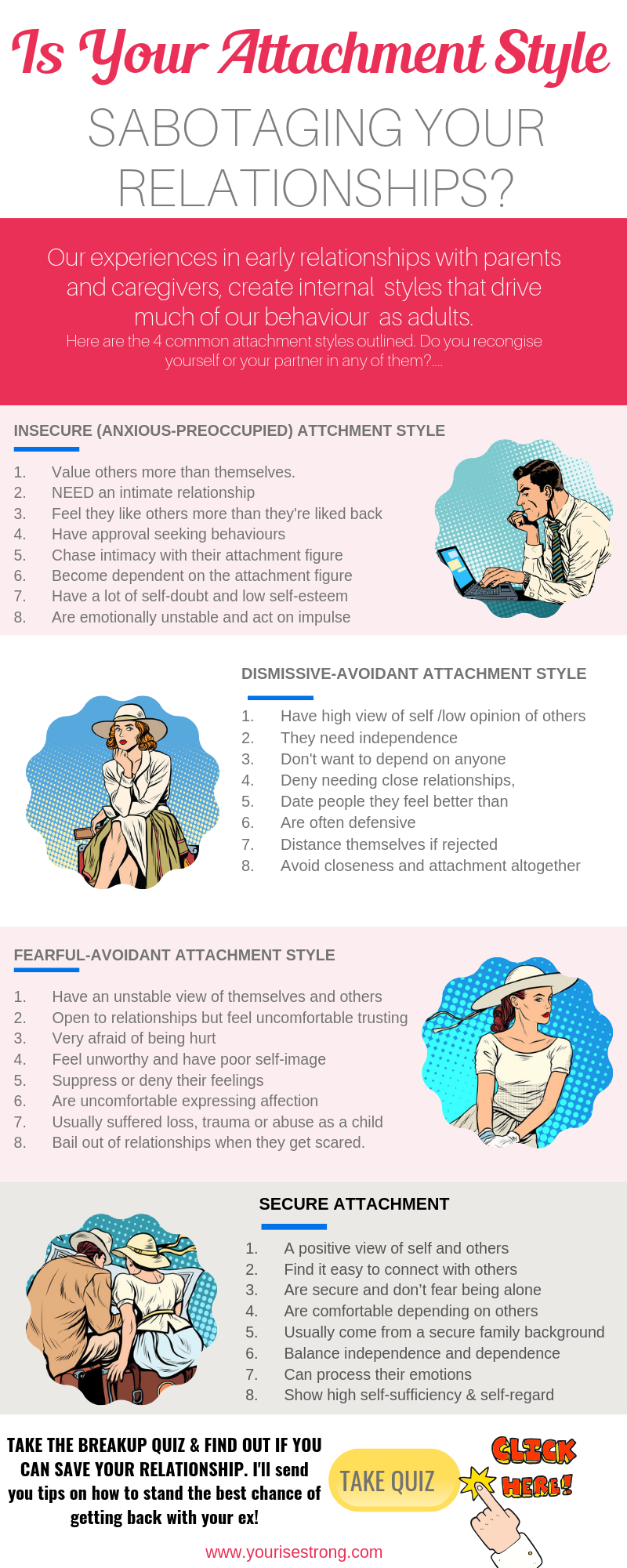 Have you broken up with someone you love? Attachment styles