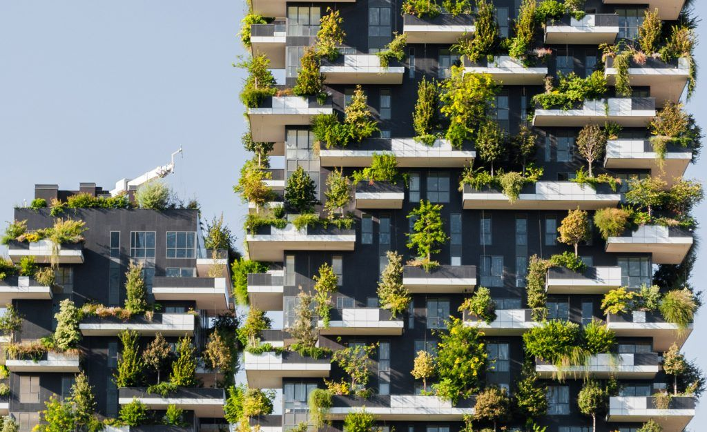 The Bosco Verticale (Vertical Forest) by Stefano Boeri in