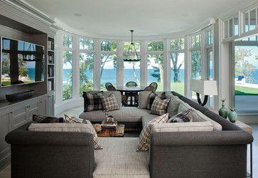 Beach House - beach-style - Family Room - Other Metro - Highgate Builders