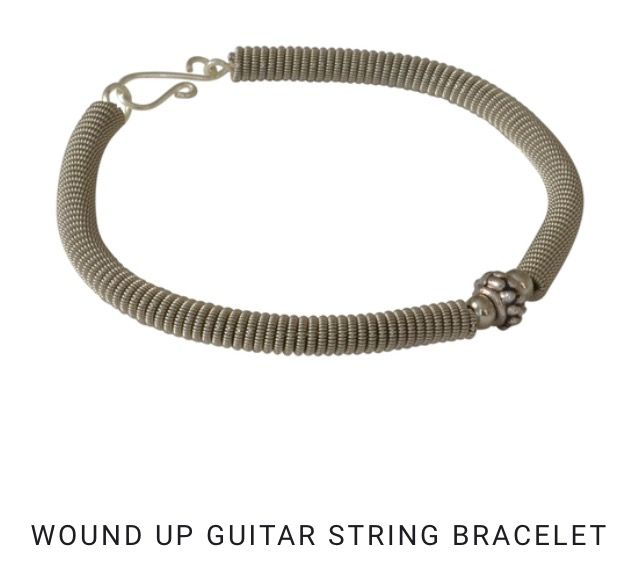 12++ High strung guitar string jewelry info