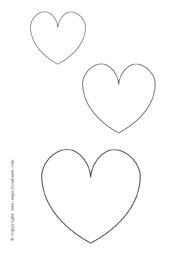 Heart Patterns Spitting  Patterns Templates  Tutorials