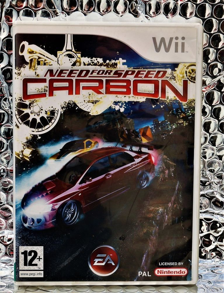 Need For Speed Carbon Wii Game Pal Ea Games Car Racing With Your Crew Wii Games Need For Speed Carbon Wii