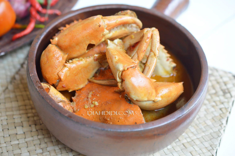 Kare Kepiting Makanan Memasak Resep Seafood