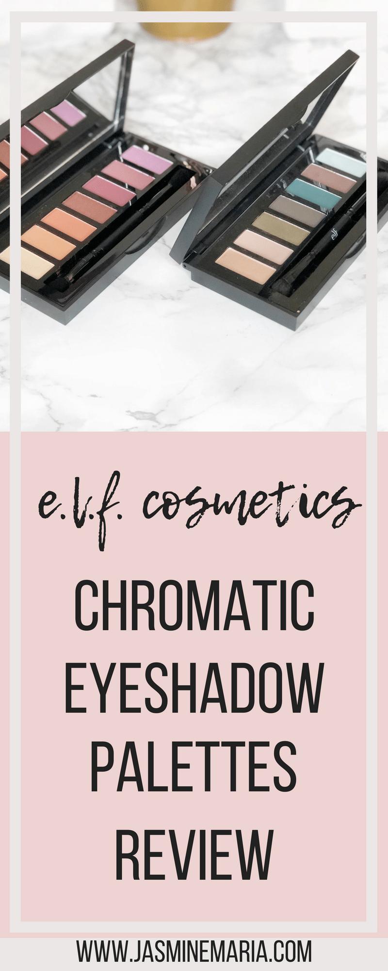 e.l.f cosmetics Chromatic Eyeshadow Palettes