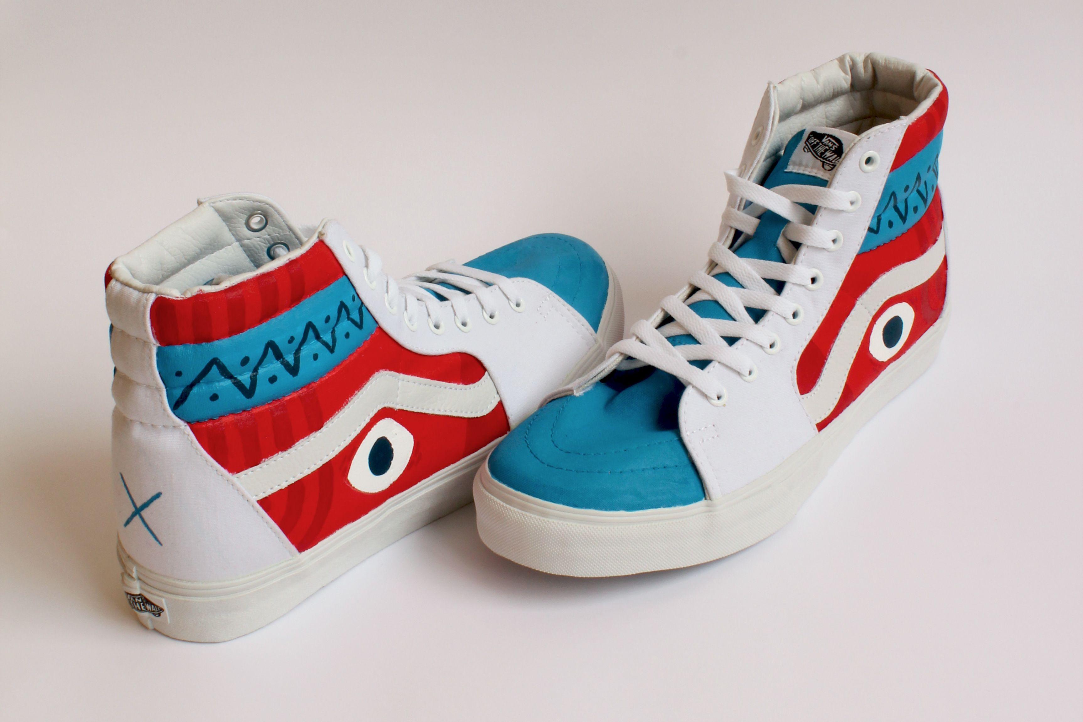 a6dbfa59520dd8 Custom painted Vans shoes   Bart Aalbers