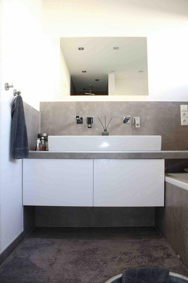 Unterschrank mit IKEA Hack   Badezimmer unterschrank ikea ...