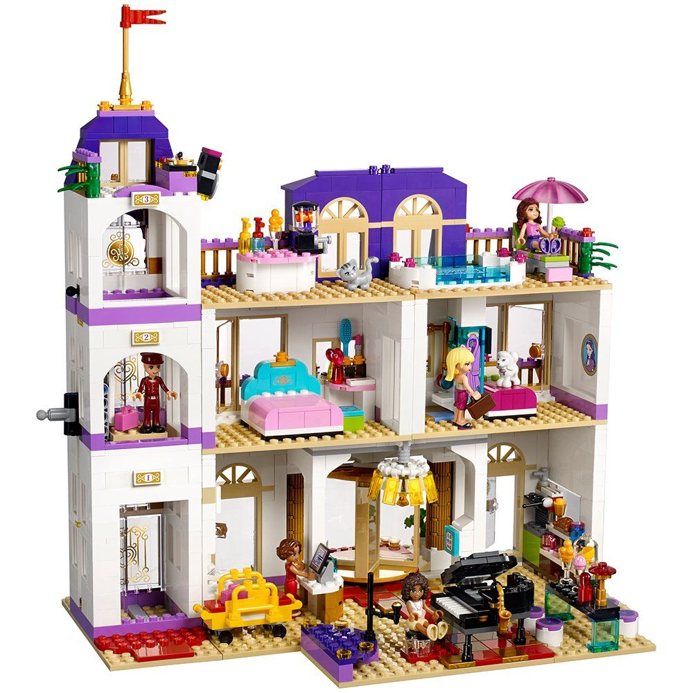 Lego Friends Heartlake Grand Hotel 41101 Popular Kids Toy Check