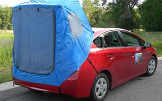 Do It Yourself Custom Built Car Camping Tent Tent Camping