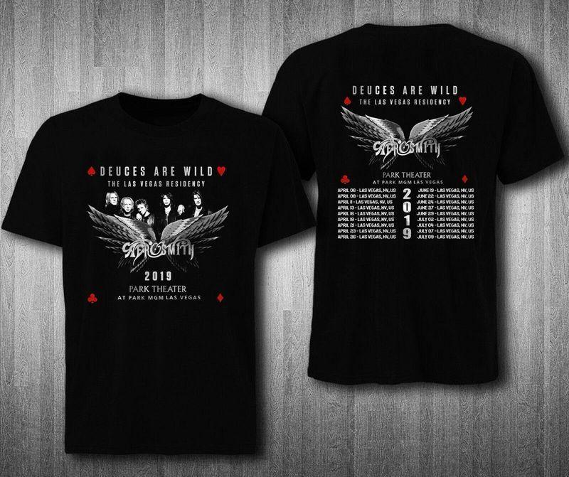 Bon Jovi 2019 European Tour With Dates T-Shirt S-5XL SIZE USA