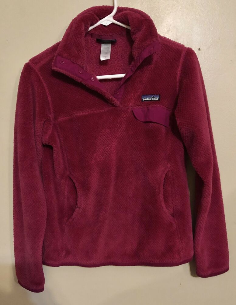 Patagonia Fleece Pullover Womens Small Fashion Clothing