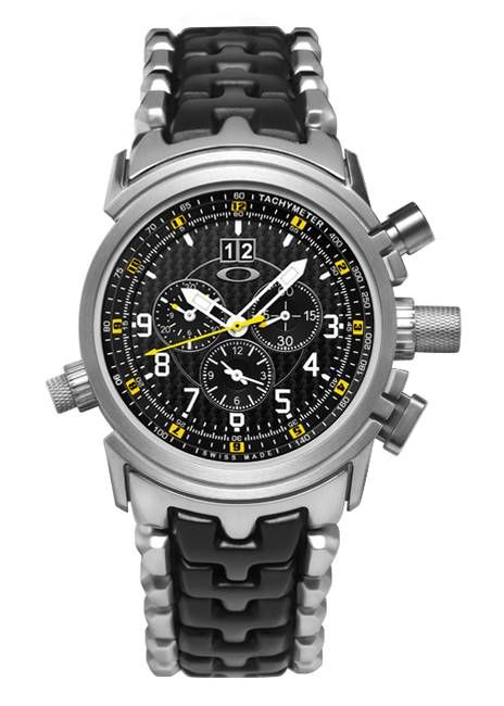 2e73df84849 Oakley 12 GAUGE Titanium Special Edition Watch - Luxury Swiss Chronograph  Men s Watch