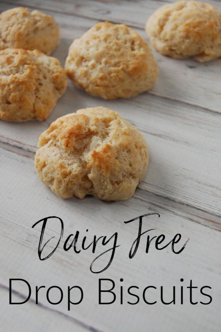 Dairy Free Drop Biscuits #dairyfree