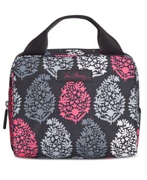 Vera Bradley Lighten Up Lunch Cooler (Black) Handbags QQmyEz8CF