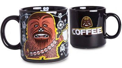 Caneca Chocolate Preta Coffee Chewie em