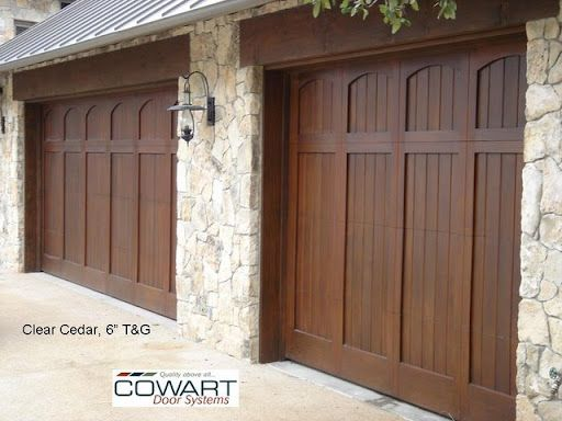 Wood Doors Without Windows Cowart Door Systems Garage Door Styles Garage Door Design Wooden Garage Doors