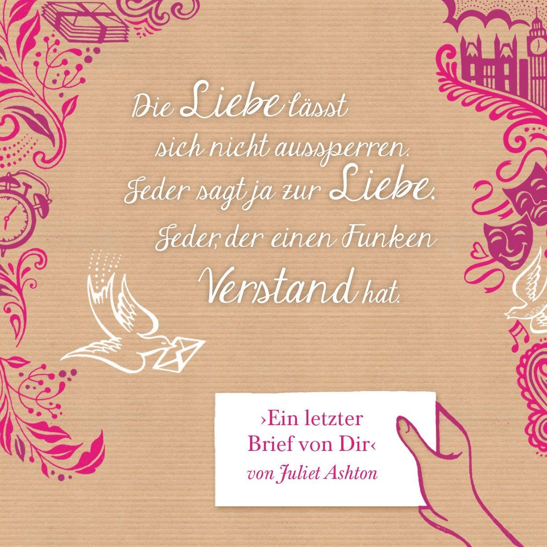 """Eines unserer Lieblingszitate aus """"Ein letzter Brief von dir"""" http://www.buch-boutique.de/buch/ein-letzter-brief-von-dir/"""