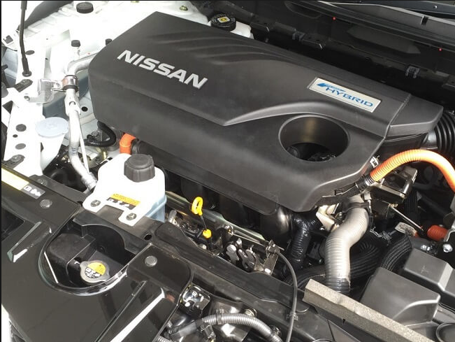 2018 Nissan Rogue New Engine System