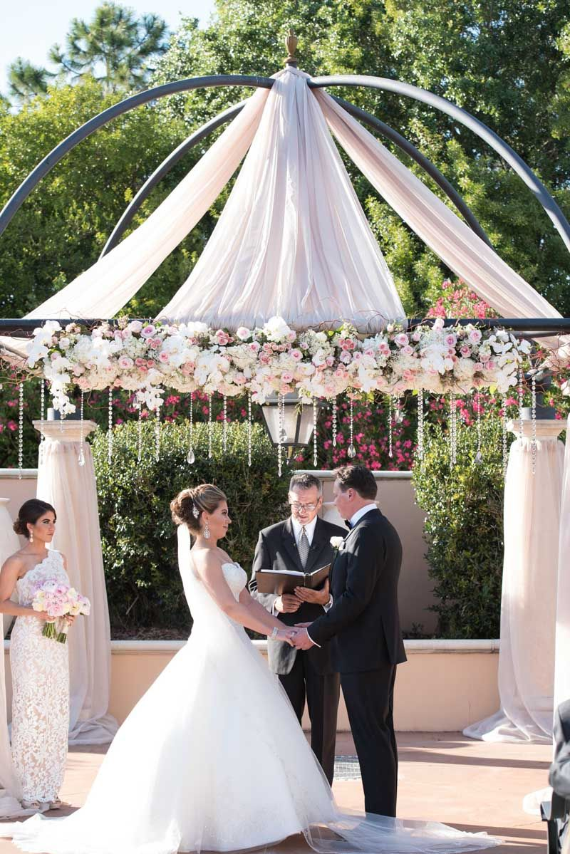 Luxe Outdoor Wedding Ceremony At Loews Portofino Bay Hotel In Orlando Fl The Celebration Society: Outside Wedding Venues In Orlando Fl At Websimilar.org