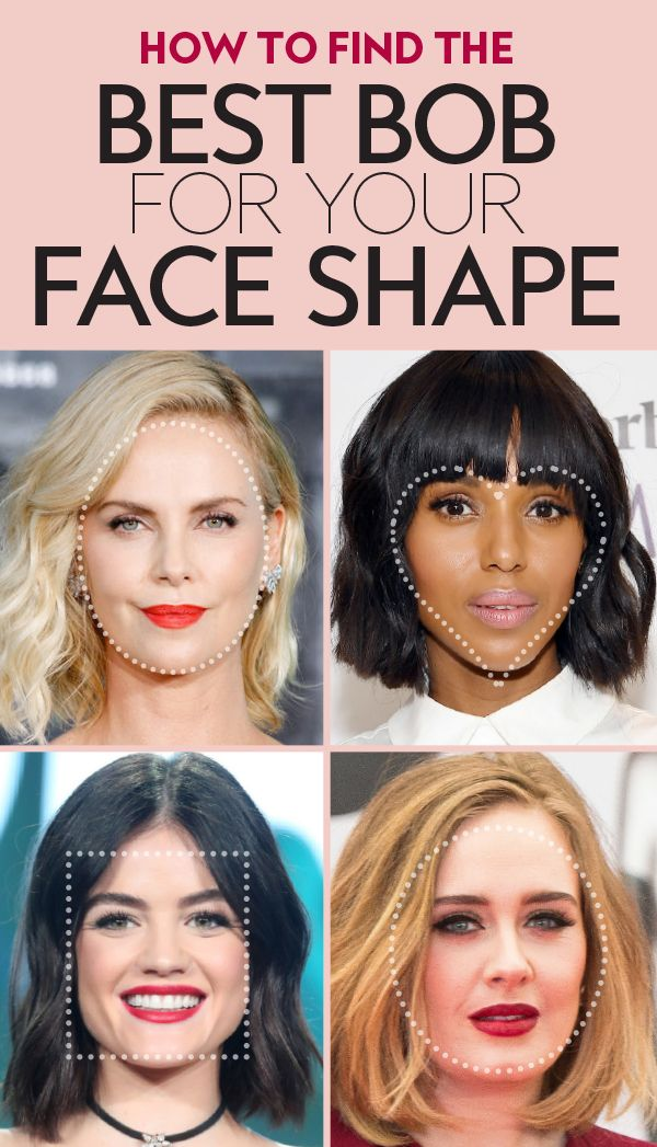 How to Find the Best Bob for Your Face Shape | Appointments, Face ...