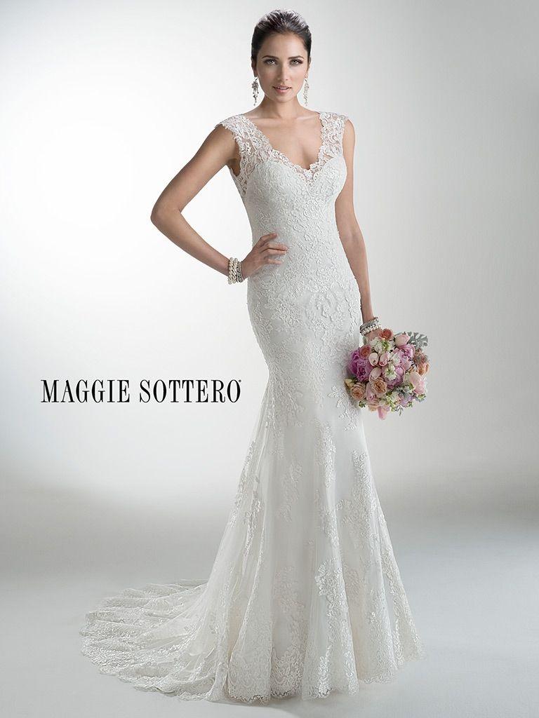 KleinfeldBridal.com: Maggie Sottero: Bridal Gown: 32942153: Sheath ...
