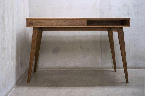 Solid black walnut billing desk console table Письменный стол