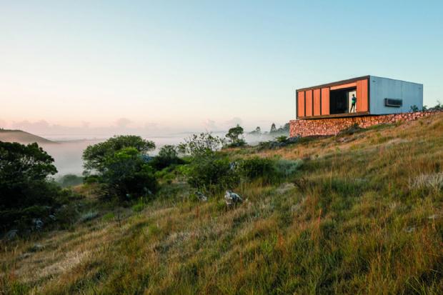Residência pré-fabricada é montada em cinco dias no interior do Uruguai, com projeto de Mapa Arquitetos   aU - Arquitetura e Urbanismo