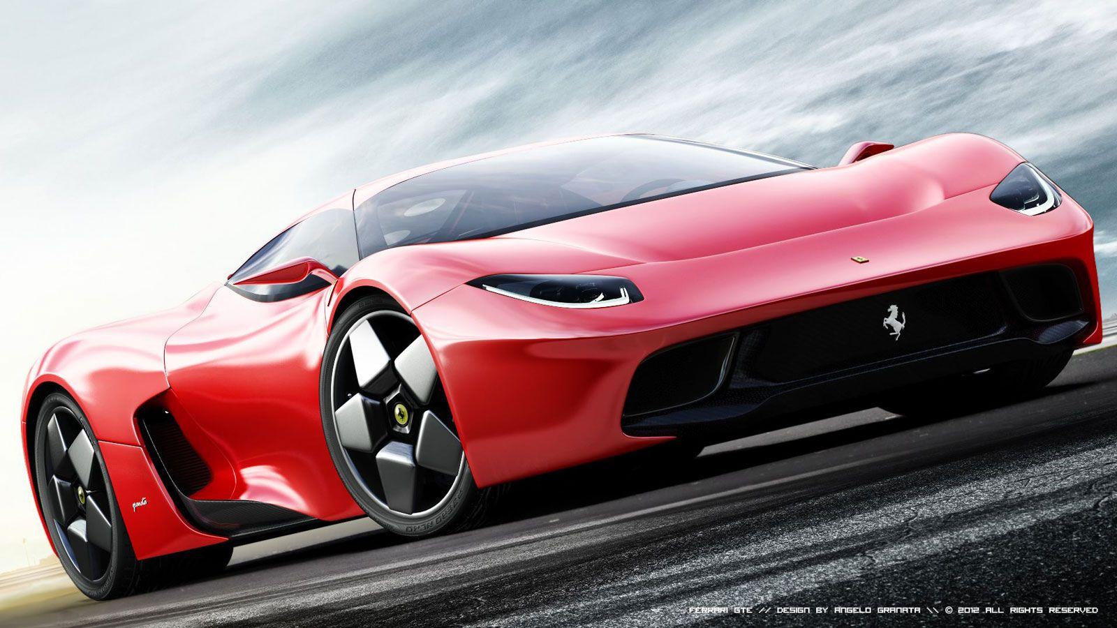 Ordinaire 2014 Ferrari GTE Concetto Di Vista Frontale