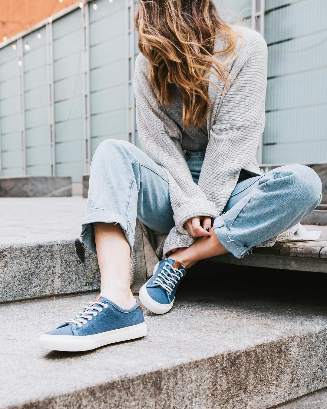 Introducing our new Gia Canvas Sneaker