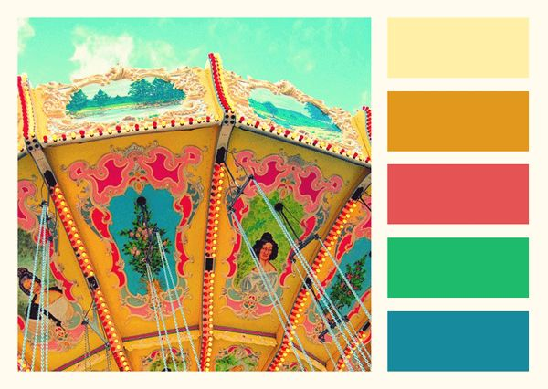 Carnival Brights Color Palette Paint Inspiration Paint Colors