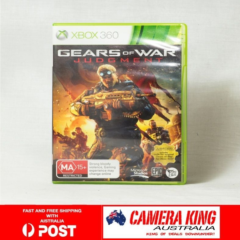 Gears of War Judgment for Xbox 360 PAL AUSTRALIA
