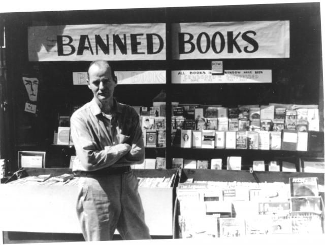 """The man who founded the seminal bookstore City Lights and bravely published Allen Ginsberg's """"Howl,"""" is a San Francisco legend, but a legend who still works, writes, and paints. On Fri. Nov. 4, hear 92-year-old Ferlinghetti read and discuss his work at the Meridian Gallery."""