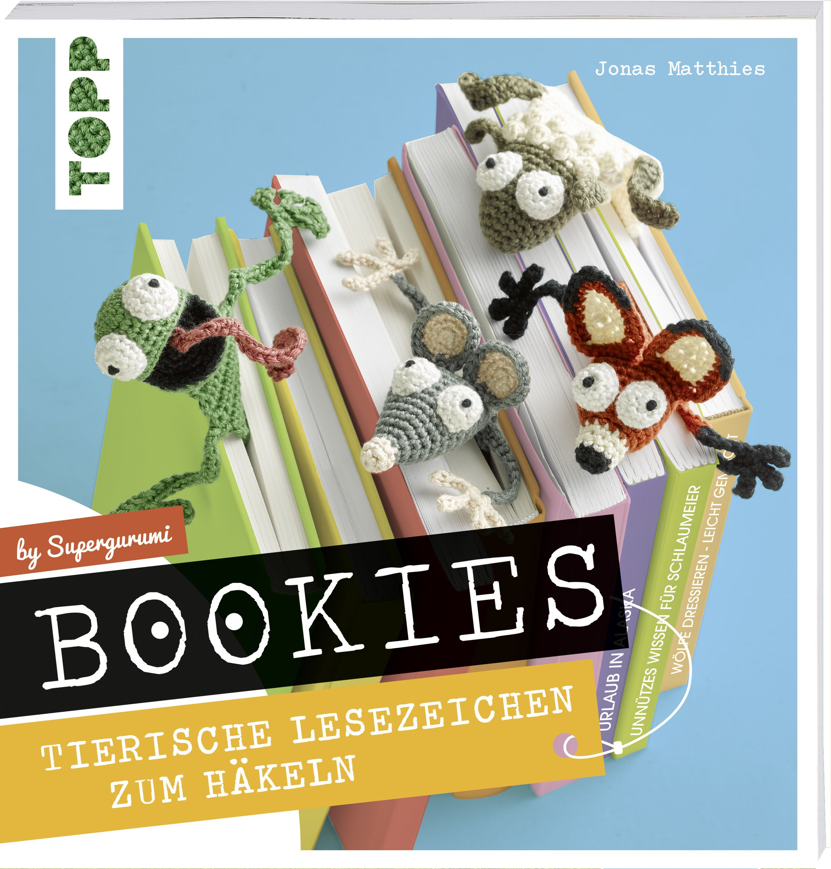 Bookies. Tierische Lesezeichen zum Häkeln by Supergurumi | Pinterest