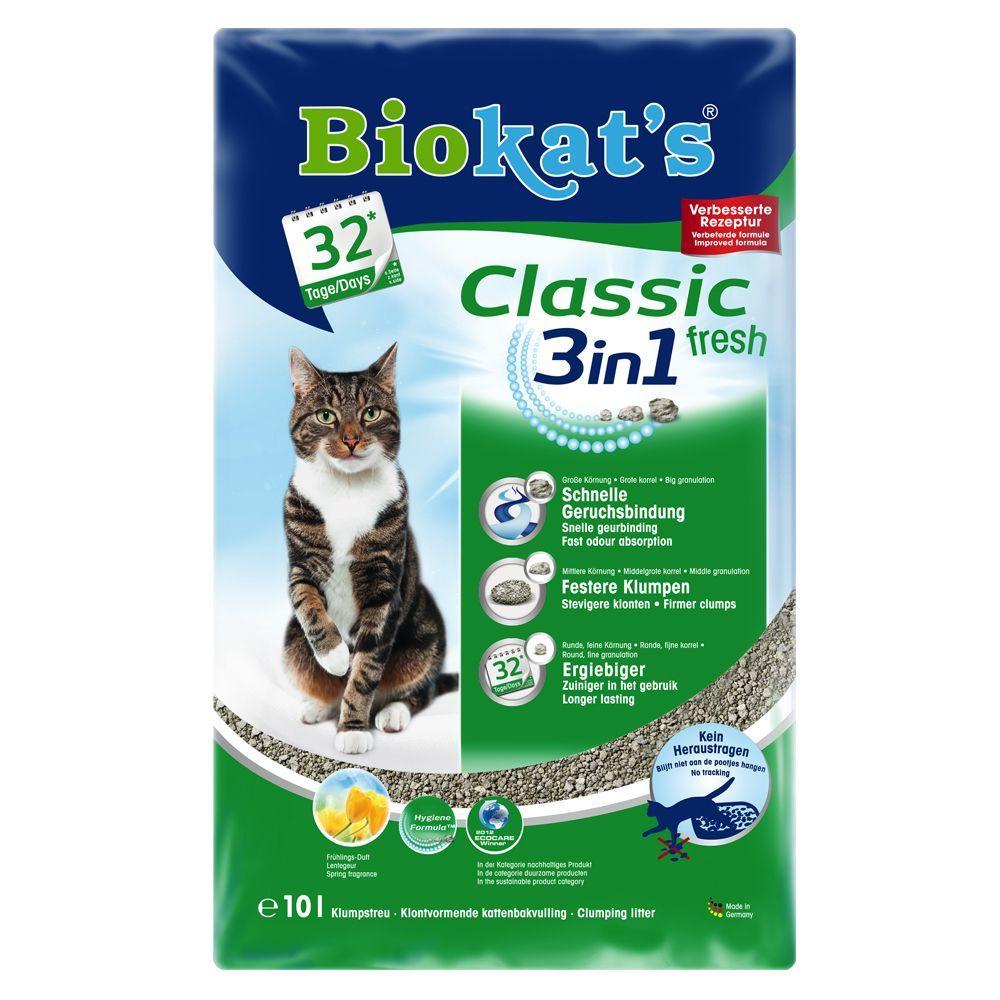 Animalerie Litiere Biokats Classic Fresh 3in1 Pour Chat Senteur Printaniere 10 L Animalerie Nourriture Animaux Animalerie En Ligne