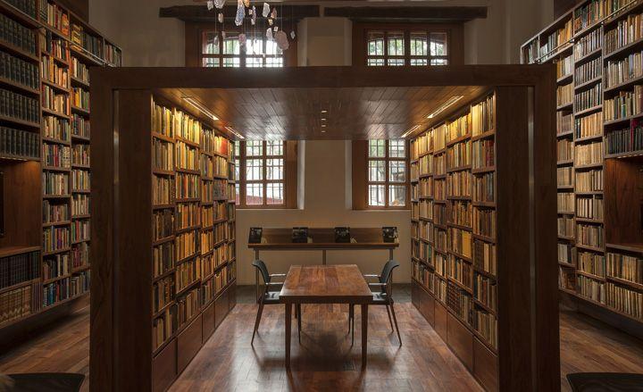 Libraries For The True Book And Architecture Lover Architecture Wallpaper Magazine Jose Vasconcelos Library City Architecture Library Architecture