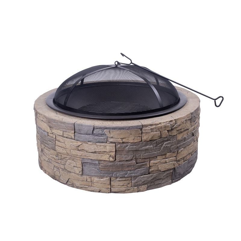 Cast Stone Fire Pit Fire Pit Wood Burning Fire Pit Stone Fire Pit