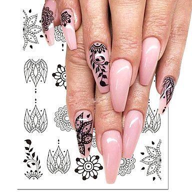 acrylic cute designs hollowed nail nails remodel