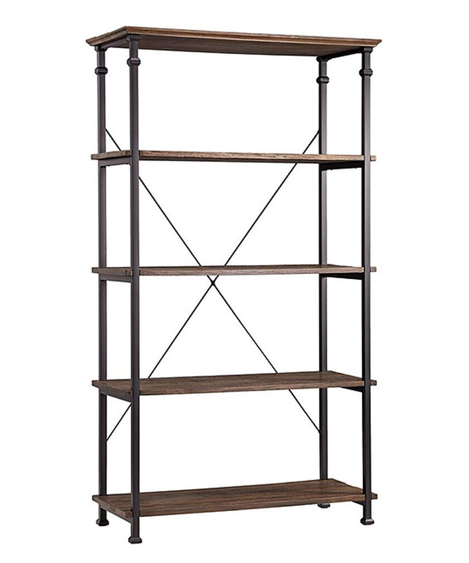 Another great find on #zulily! Vintage Industrial Bookcase by HomeBelle #zulilyfinds