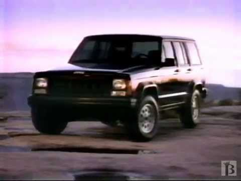Jeep Cherokee Sport Commercial 1992 With Images Jeep Cherokee
