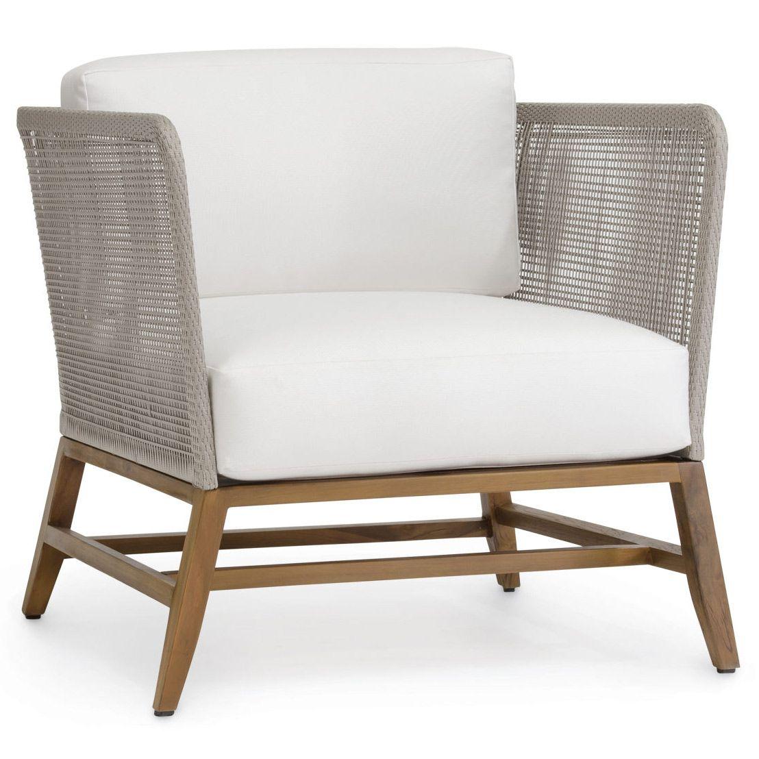 Palecek Avila Indoor/Outdoor Lounge Chair Zinc_Door