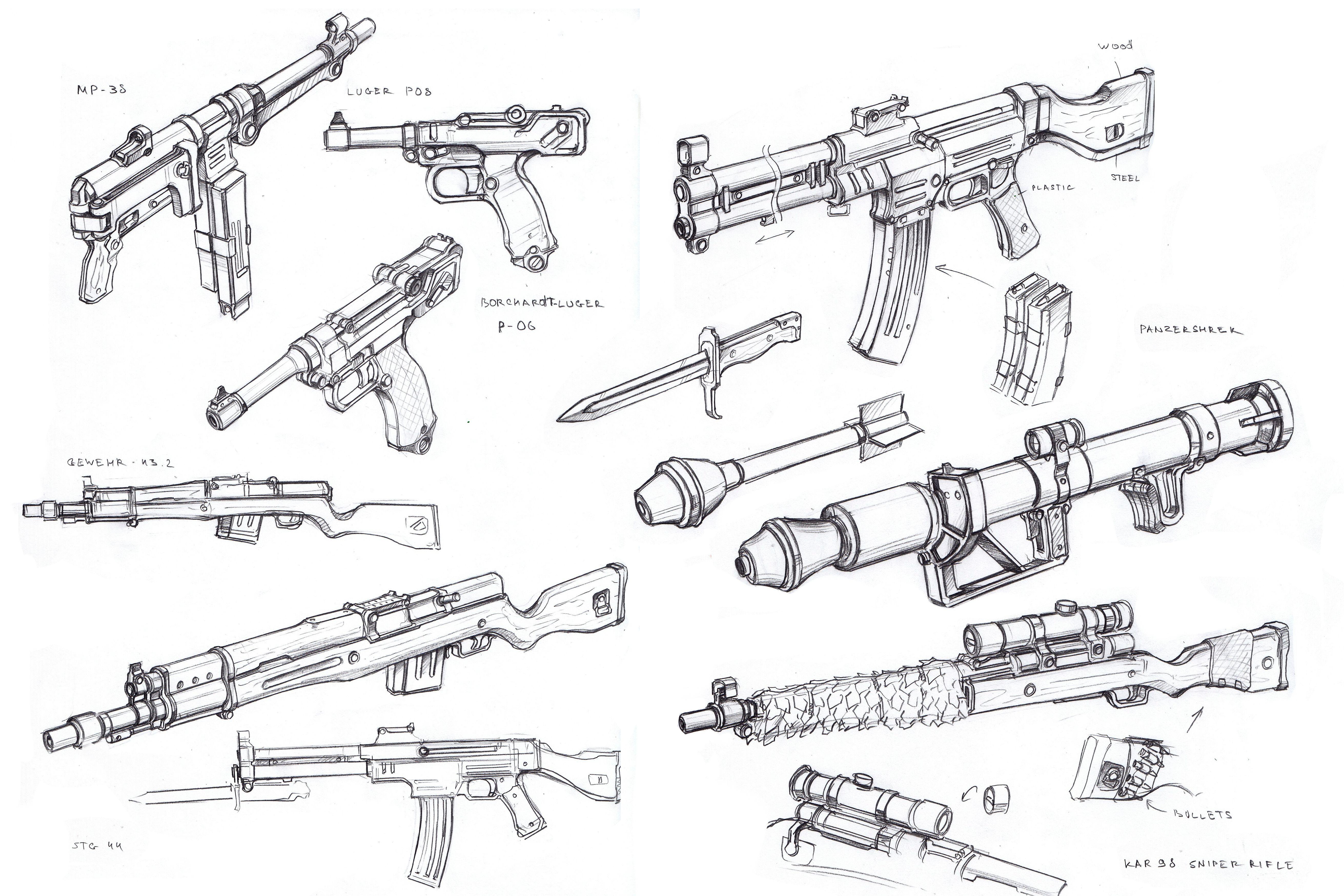 Pin Em Armas De Fogo