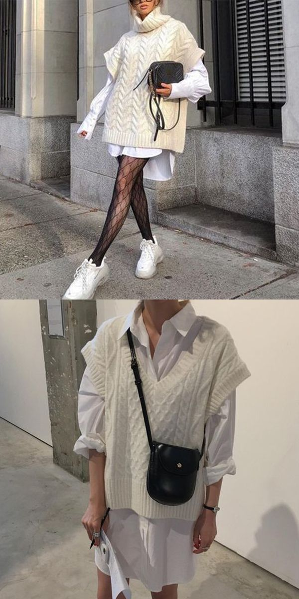 Fashion knit vest
